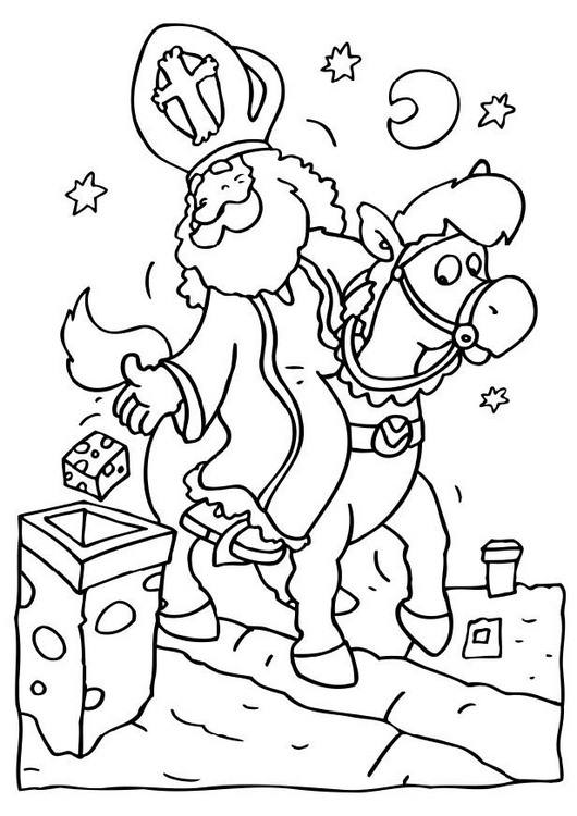 Kleurplaat Sinterklaas Pakjes Idee 235 N Over Kleurpagina S